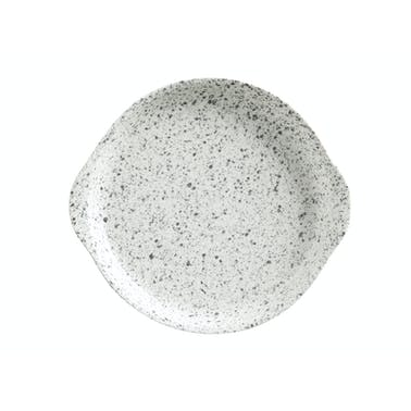Maxwell & Williams Caviar Speckle 15.5cm Plate With Handle