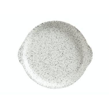 Maxwell & Williams Caviar Speckle 20cm Plate With Handle