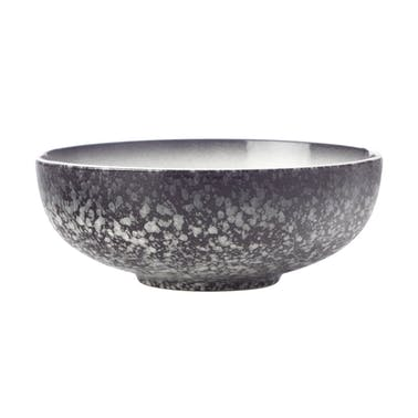 Maxwell & Williams Caviar Granite 19cm Coupe Bowl