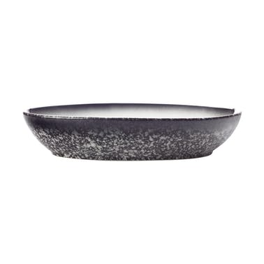 Maxwell & Williams Caviar Granite 25cm Oval Bowl