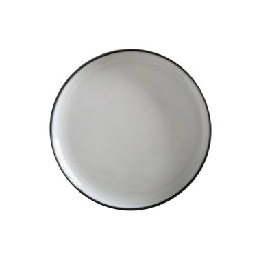 Maxwell & Williams Caviar Granite 33cm High Rim Platter
