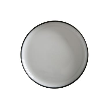 Maxwell & Williams Caviar Granite 28cm High Rim Platter