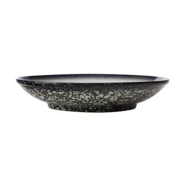 Maxwell & Williams Caviar Granite 25cm Footed Bowl