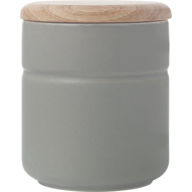 Maxwell & Williams Tint Grey Porcelain 600ml Canister