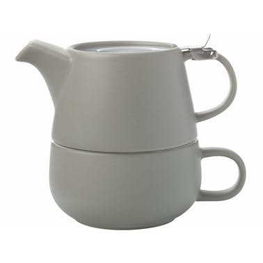 Maxwell & Williams Tint Grey Porcelain Tea For One