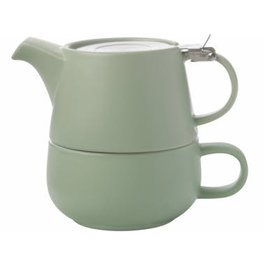 Maxwell & Williams Tint Mint Porcelain Tea For One