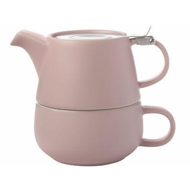 Maxwell & Williams Tint Rose Porcelain Tea For One