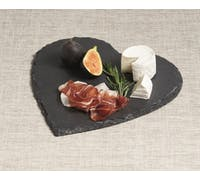 Artesà Appetiser Slate Heart Shaped Serving Platter