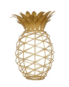 Photo of BarCraft Pineapple Shaped Wine Cork Collector
