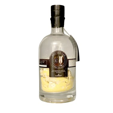 BarCraft Pina Colada Gift Set with Glass Bottle, Cocktail Strainer and Ingredients