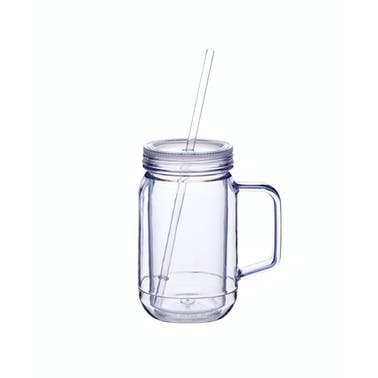 BarCraft 400ml Double Walled Drinks Jar
