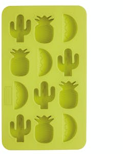 Photo of BarCraft Novelty Silicone Ice Cube Tray With Tropical Shapes