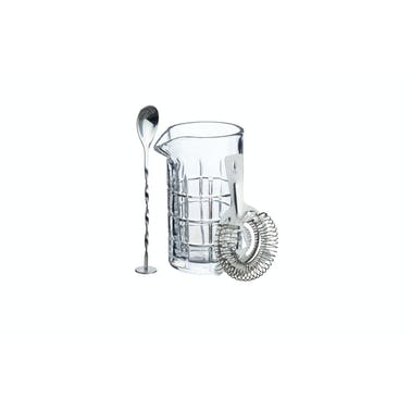 BarCraft Three-Piece Cocktail Mixing Set