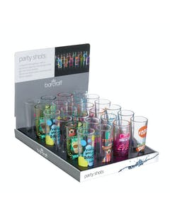 Photo of BarCraft Display of 24 Party Shot Glasses