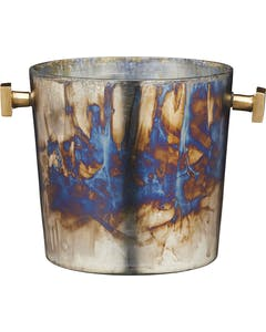 Photo of BarCraft Mercury Fire Glass Sparkling Wine Bucket
