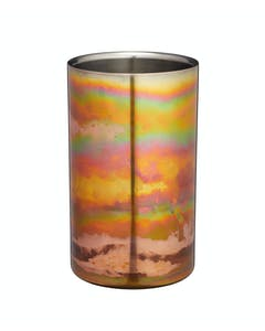 Photo of BarCraft Stainless Steel Iridescent Copper-Coloured Wine Cooler