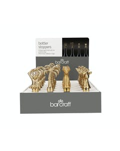 Photo of BarCraft Bottle Stoppers - Display of 24