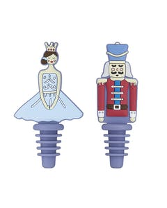 Photo of KitchenCraft The Nutcracker Collection Silicone Bottle Stoppers