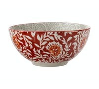 Maxwell & Williams Boho 15cm Bowl Batik Grey