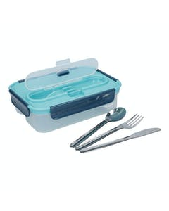 Photo of Built Retro 1 Litre Bento Box with Cutlery