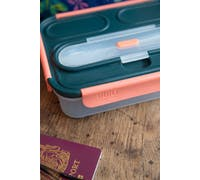 Built Tropics 1 Litre Bento Box with Cutlery