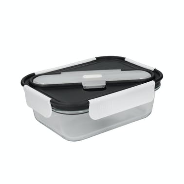 Built Professional Glass 900ml Lunch Box with Cutlery