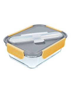 Photo of Built Stylist Glass 900ml Lunch Box with Cutlery