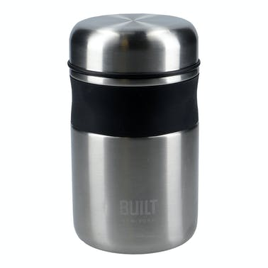 Built 490ml Silver Food Flask