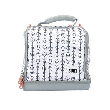 BUILT Bowery Insulated Lunch Bag, 17.5 x 24 x 26cm / 7 Litre ('Belle Vie')