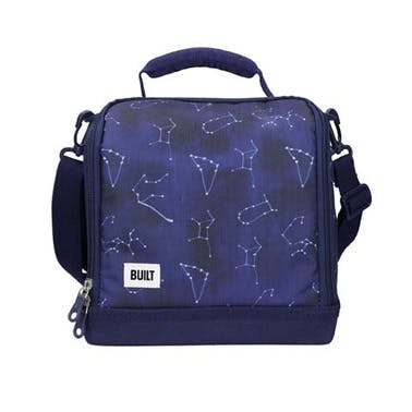 BUILT Bowery Insulated Lunch Bag, 17.5 x 24 x 26cm / 7 Litre ('Galaxy')