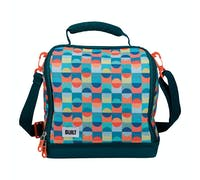 BUILT Bowery Insulated Lunch Bag, 17.5 x 24 x 26cm / 7 Litre ('Retro')