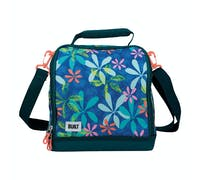 BUILT Bowery Insulated Lunch Bag, 17.5 x 24 x 26cm / 7 Litre ('Tropics')