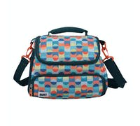 Built Retro 6 Litre Lunch Bag with Storage Compartment