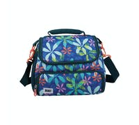 BUILT Prime Insulated Lunch Bag, 15.5 x 25 x 24cm / 5 Litre ('Tropics')
