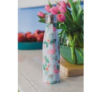 Built 500ml Double Walled Stainless Steel Water Bottle Flamingo