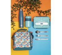 Built Retro 1 Litre Lunch Box with Cutlery