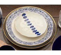 Mikasa Azores Speckle Dinner Plate