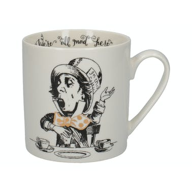 Victoria And Albert Alice In Wonderland Mad Hatter Can Mug