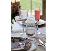 Katie Alice The Collection Set Of 4 Etched Flute Glasses