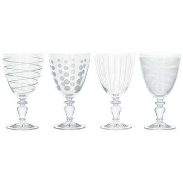 Mikasa Cheers Pack Of 4 Glass Goblets