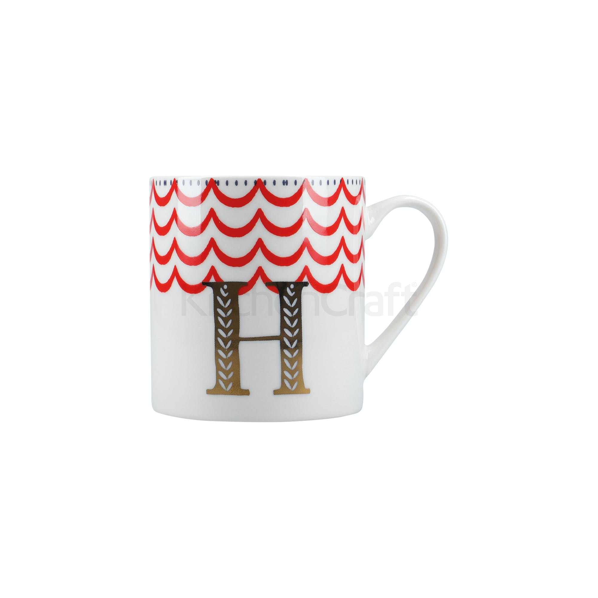 Marque H Et H creative tops alphabet can mug h | mugs | creative tops