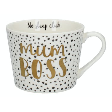 Creative Tops Ava & I Mum Boss Squat Conical Mug