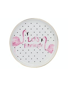 Photo of Creative Tops Ava & I Flamingo Round Trinket Dish