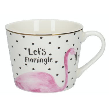 Creative Tops Ava & I Flamingo Squat Conical Mug
