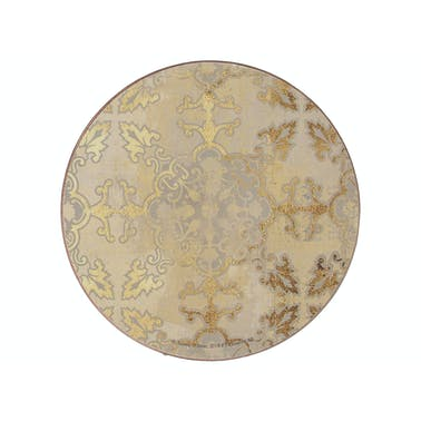 Creative Tops Gold Impressions Pack Of 4 Premium Round Coasters