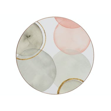 Creative Tops Gilded Spheres Pack Of 4 Premium Round Coasters