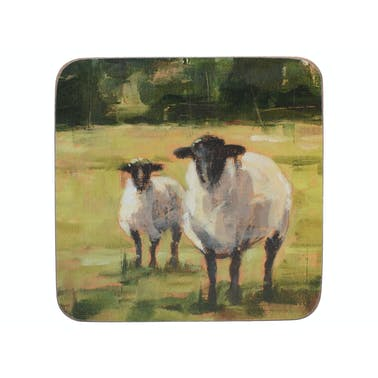 Creative Tops Sheep Family Pack Of 6 Premium Coasters