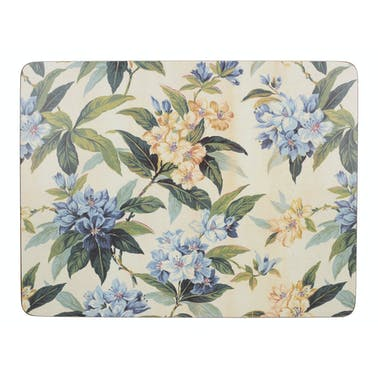 Creative Tops Traditional Floral Pack Of 6 Premium Placemats