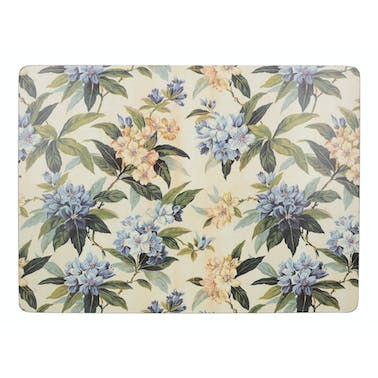 Creative Tops Traditional Floral Pack Of 4 Large Premium Placemats