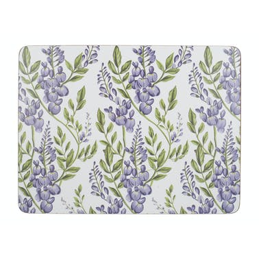 Creative Tops Wisteria Pack Of 6 Premium Placemats